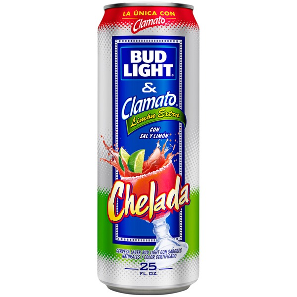 Bud Light Chelada Clamato Extra Lime Beer
