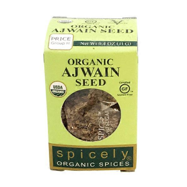 Spicely Organic Spices Organic Ajwain Seed