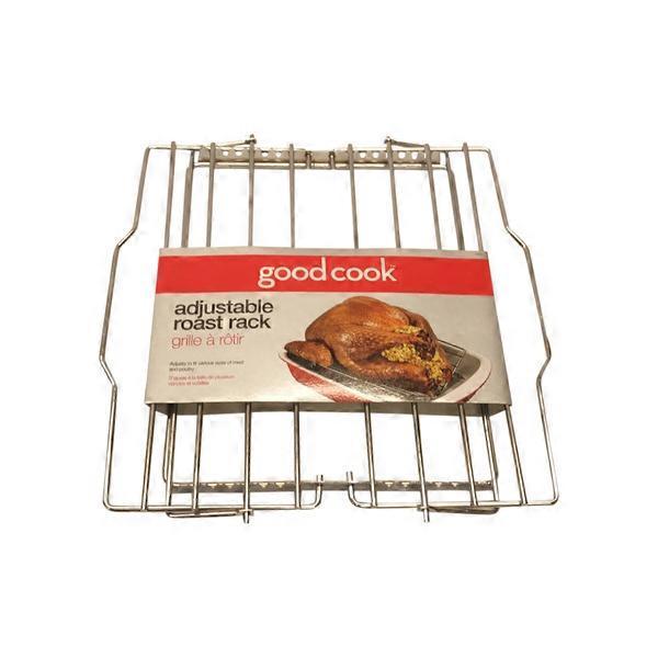 Adjustable Good Cook Roast Rack