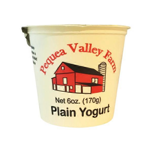 Pequea Valley Farm Plain Yogurt 6 Oz Instacart