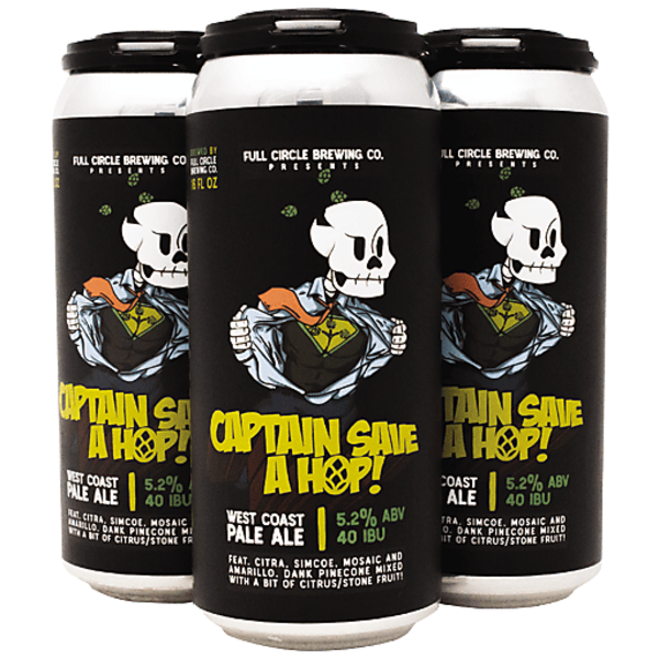 Full Circle Brewing Company Captain Save a Hop American Pale