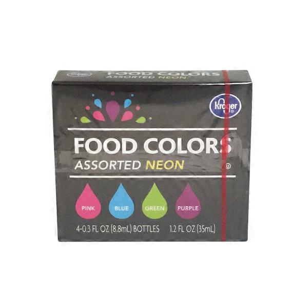 Kroger Food Colors (0.3 fl oz) from King Soopers - Instacart