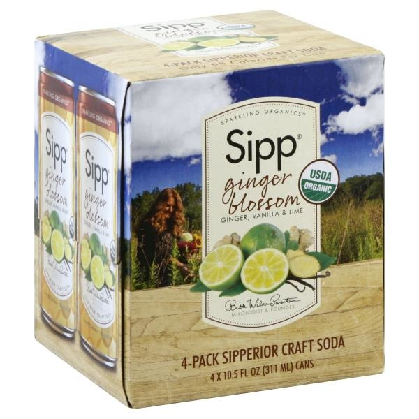 Sipp Soda, Sipperior Craft, Ginger Blossom (10 5 each) from Publix