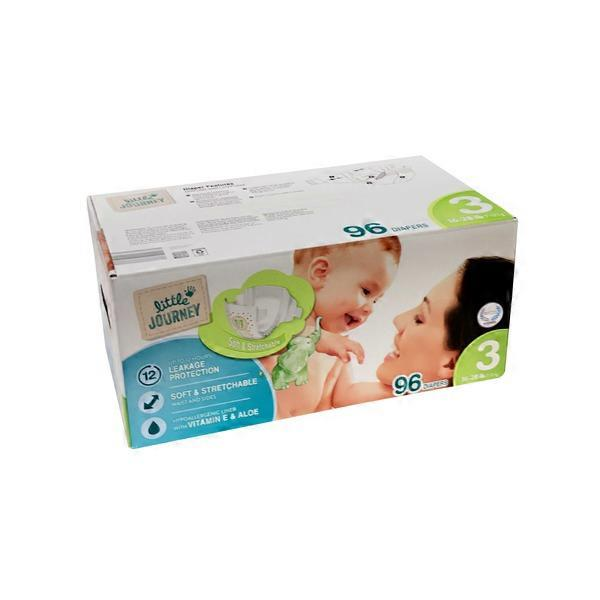 4d2494147b4 Little Journey Club Pack Diapers Size 3 (96 ct) from ALDI - Instacart