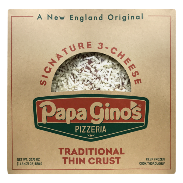 Papa Ginos Pizzeria Traditional Thin Crust Signature 3 Cheese 20 75 Oz Instacart Get two or more large traditional pizzas with up to five toppings each for. usd