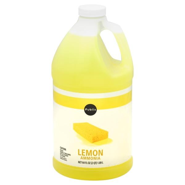 Publix Ammonia, Lemon (64 oz) from Publix - Instacart