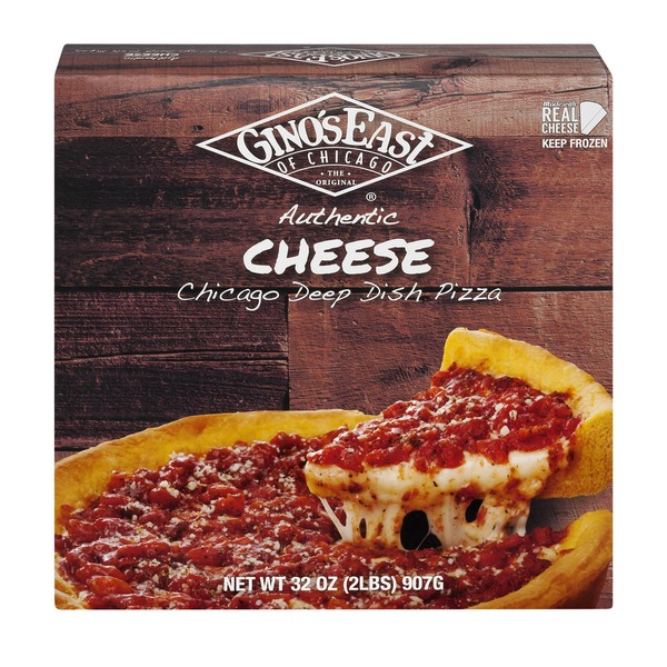 Ginos East Of Chicago Authentic Deep Dish Pizza Cheese From Jewel