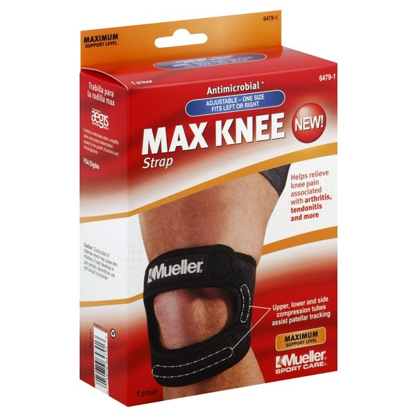 429fbf66d8 Mueller Knee Strap, Max, Adjustable, One Size (1 ea) from CVS ...