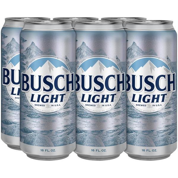 Busch Light Beer (16 fl oz) from Binny's Beverage Depot