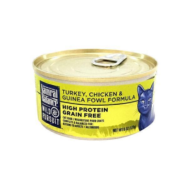 Natural Balance Wild Pursuit Turkey Chicken Guinea Fowl Formula