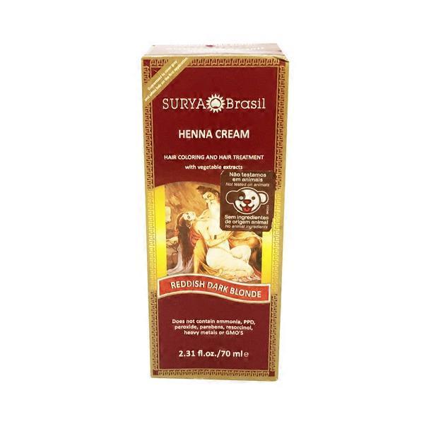 Surya Brasil Reddish Dark Blonde Hair Coloring Treatment Henna