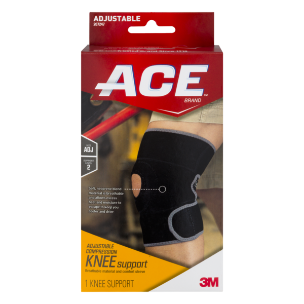 4be52d7dbd ACE Adjustable Compression Knee Support (1 ct) from CVS ...