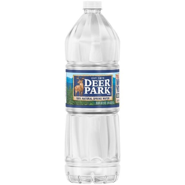 Deer Park 100% Natural Spring Water (1 L) from CVS Pharmacy