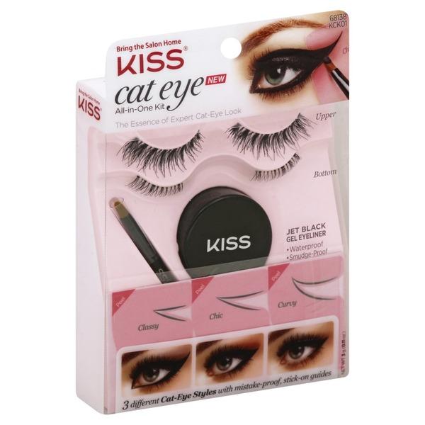 6b8446ccb99 Kiss Jet Black Gel Eyeliner (0.11 each) from Albertsons - Instacart