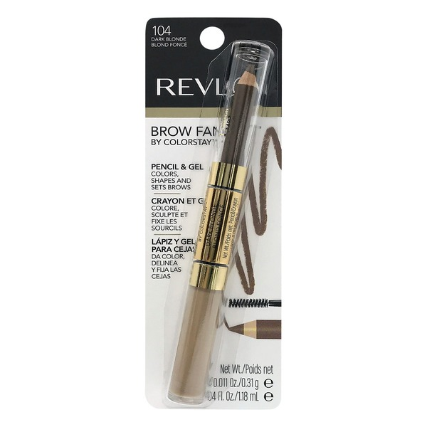 f7e87d2a929 Revlon Brow Fantasy Pencil and Gel 104 Dark Blonde (1.0 ct) from ...