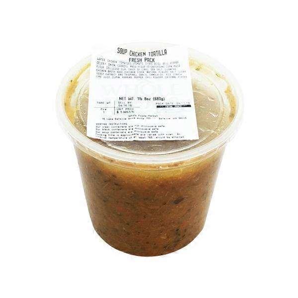 Whole Foods Market Chicken Tortilla Soup 24 Oz From Whole Foods