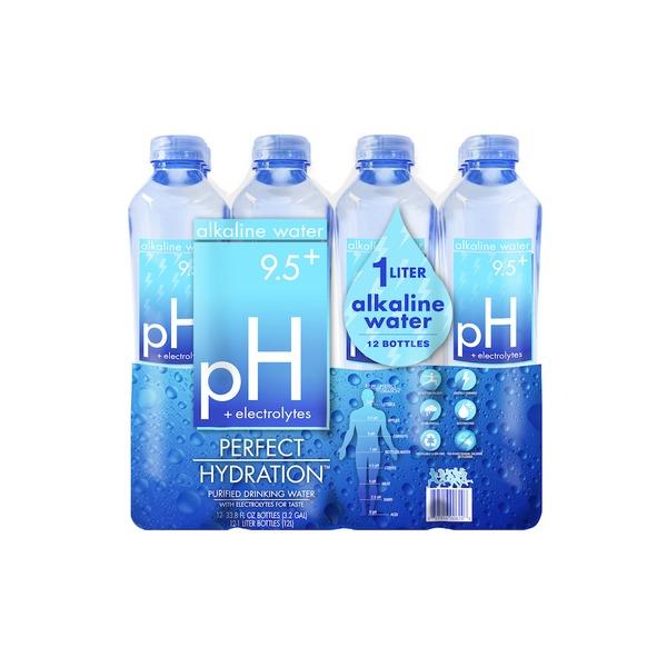 Perfect Hydration Alkaline Purified Drinking Water (33 8 fl