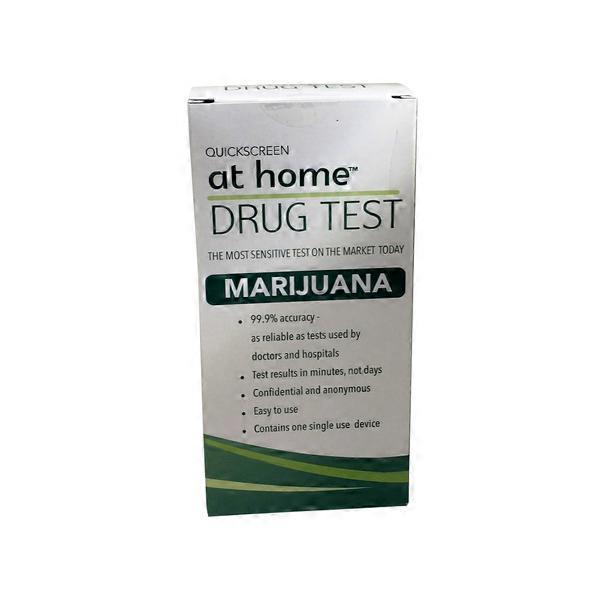 At Home Drug Test >> Quickscreen Marijuana At Home Drug Test From Stop Shop Instacart