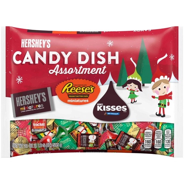 Hershey's Candy Dish Assortment Hershey's Miniatures, Reese's