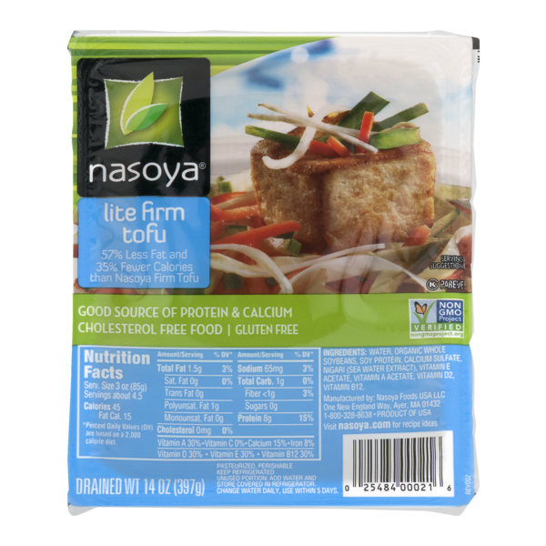 Nasoya Lite Firm Tofu From Whole Foods Market Instacart