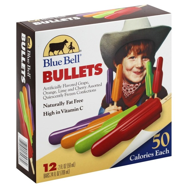 Blue Bell Bullets (12 each) from CVS Pharmacy® - Instacart