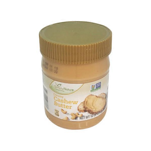Simply Nature Cashew Butter (12 oz) from ALDI - Instacart