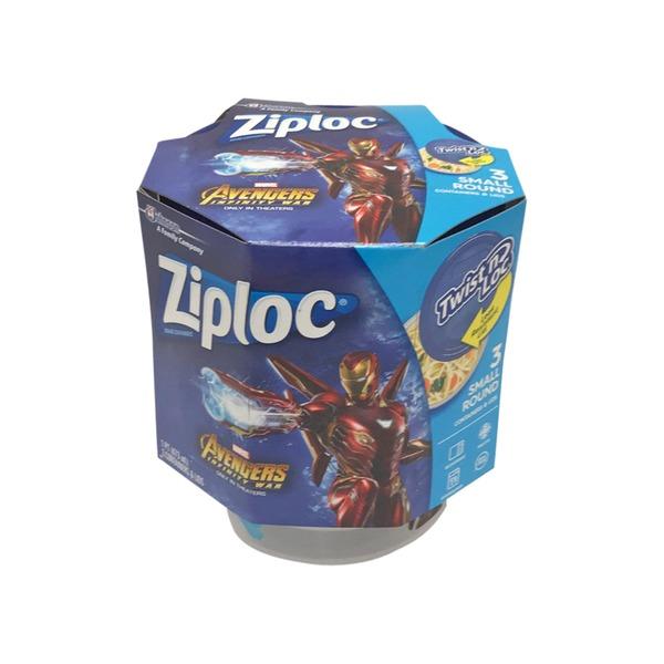 Ziploc Disney Avengers Twist Lock Food Storage Container 3 Ct