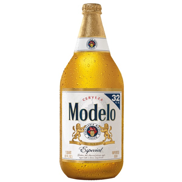 Modelo Especial Mexican Import Beer Bottle 32 Fl Oz From