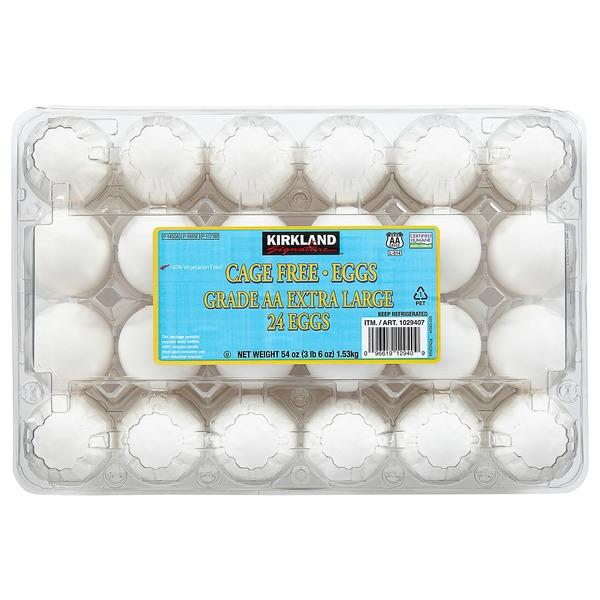 d816aaaaf1 Kirkland Signature Cage Free Eggs USDA Grade AA Extra Large