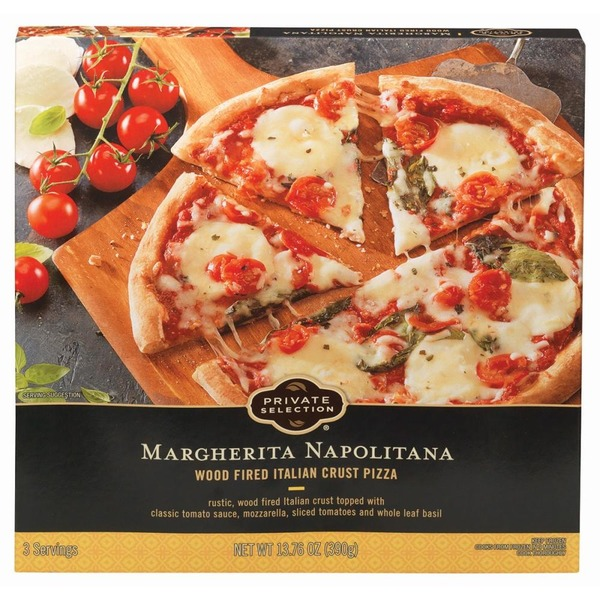 Private Selection Margherita Napolitana Wood Fired Italian Crust Pizza 1375 Oz From Kroger