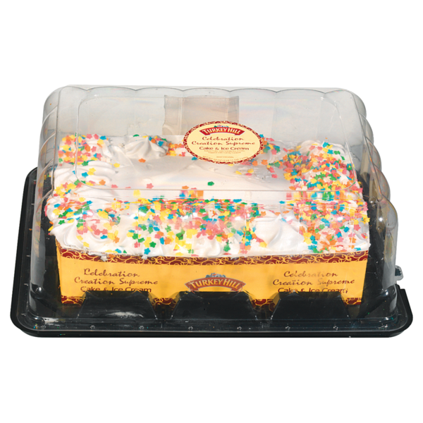 Turkey Hill Celebration Creation Supreme Cake And Ice Cream From