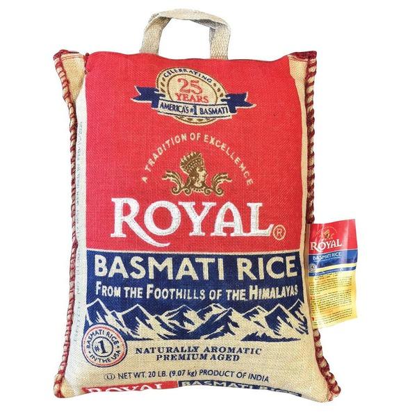 Royal Basmati Rice (20 lb) from BJ's Wholesale Club - Instacart