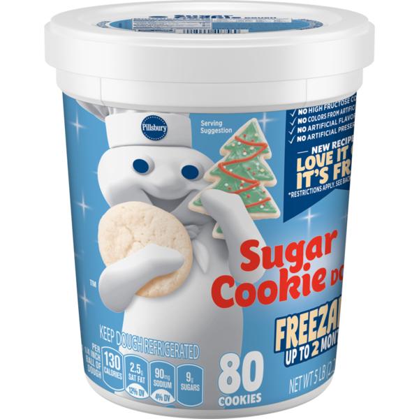 Pillsbury Sugar Cookie Dough Tub (80 oz) from BJ's Wholesale