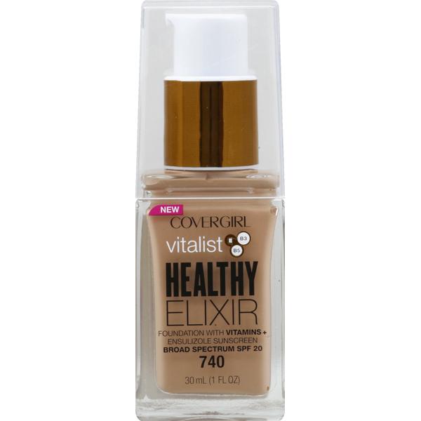 Covergirl Vitalist Healthy Elixir Foundation With Vitamins