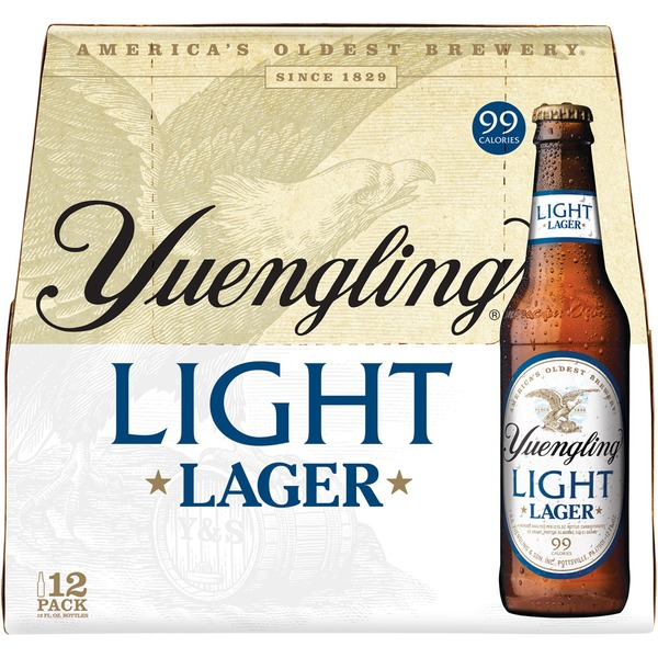 Yuengling Light Beer