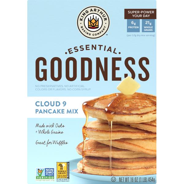 King Arthur Baking Pancake Mix, Cloud 9