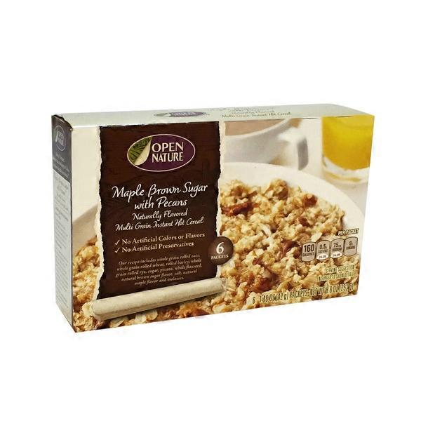 Open Nature Oatmeal With Brown Sugar from Randalls - Instacart