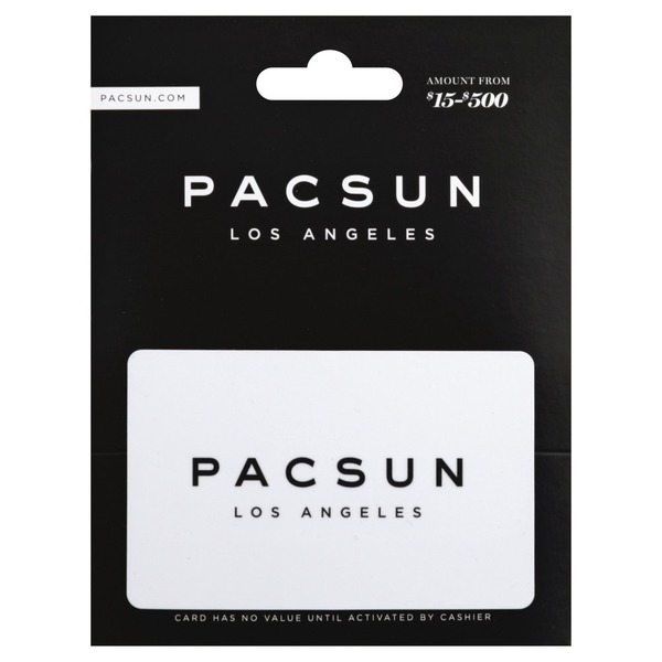 Pacsun Gift Card, $15-$500 (1 each) from Vons - Instacart