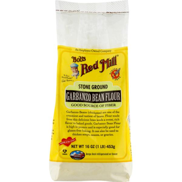 Bob's Red Mill Stone Ground Garbanzo Bean Flour (16 oz) from