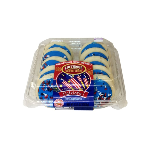 Lofthouse Blue Frosted Sugar Cookies From Meijer Instacart