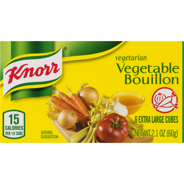 Knorr Cube Bouillon Vegetable (2 1 oz) from Fairway Market