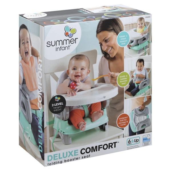 Peachy Summer Infant Booster Seat Folding Deluxe Comfort 1 Each Creativecarmelina Interior Chair Design Creativecarmelinacom