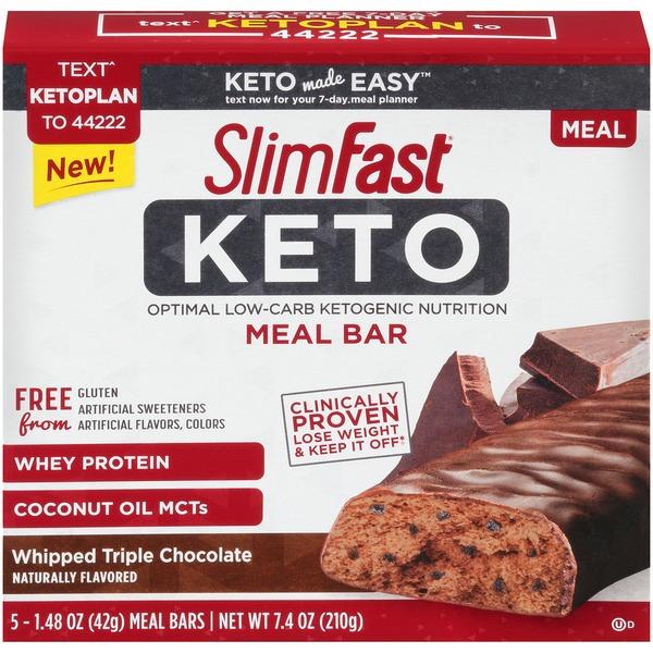 Slimfast Keto Whipped Triple Chocolate SlimFast Keto Whipped