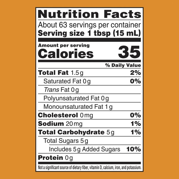 coffee mate creamer nutrition facts
