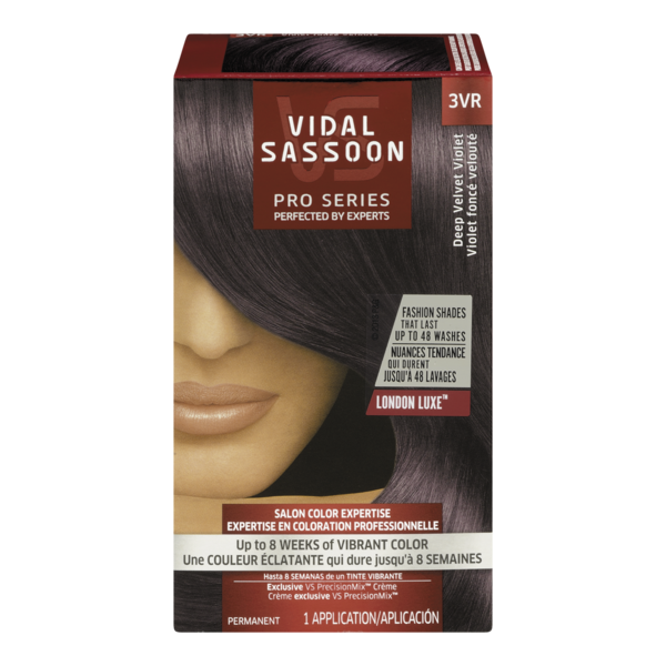 Vidal Sassoon Pro Series 3vr Deep Velvet Violet Hair Color 1 Kt