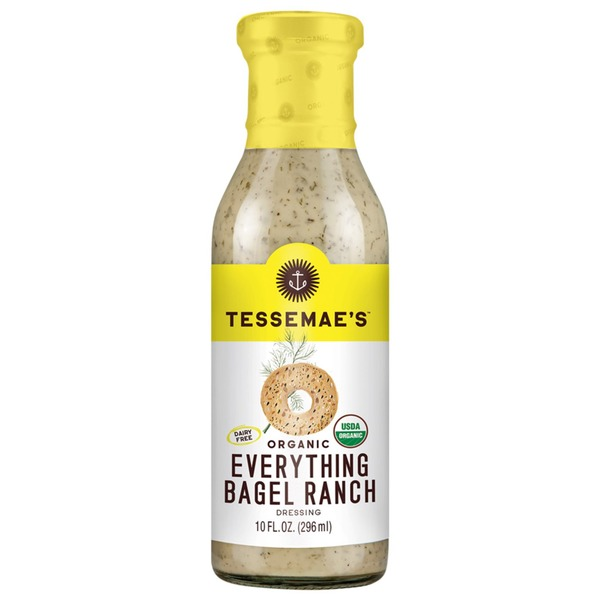 Tessemae's All Natural Everything Bagel Ranch Dressing