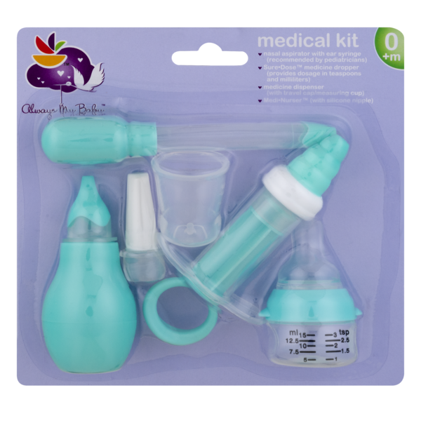 Other Baby Safety & Health Nuby Medical Set Accurate Dosage Measurement In Both Teaspoon And Milliliters Baby
