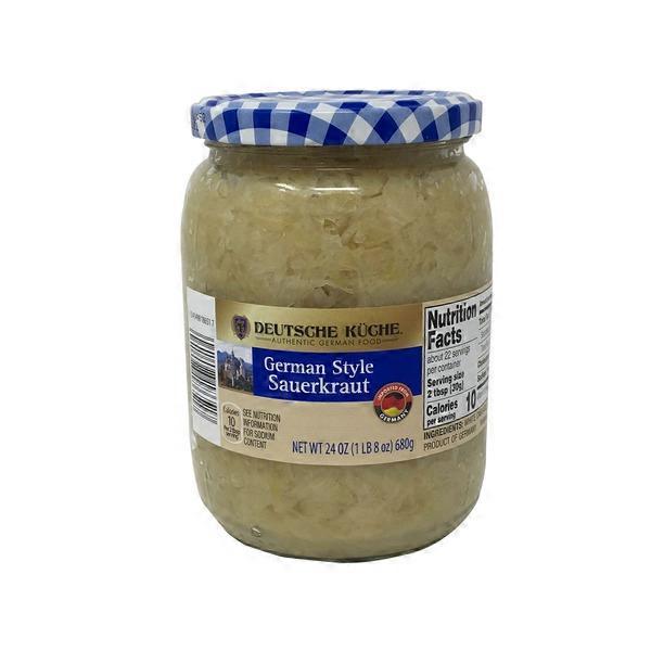 Deutsche Kuche German Style Sauerkraut