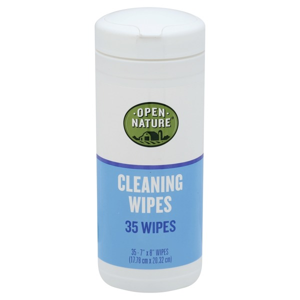 Open Nature Cleaning Wipes (35 ct) from Vons - Instacart