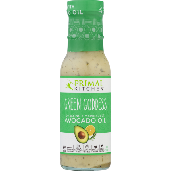 47945e45d Primal Kitchen Dressing & Marinade Made With Avocado Oil Green Goddess